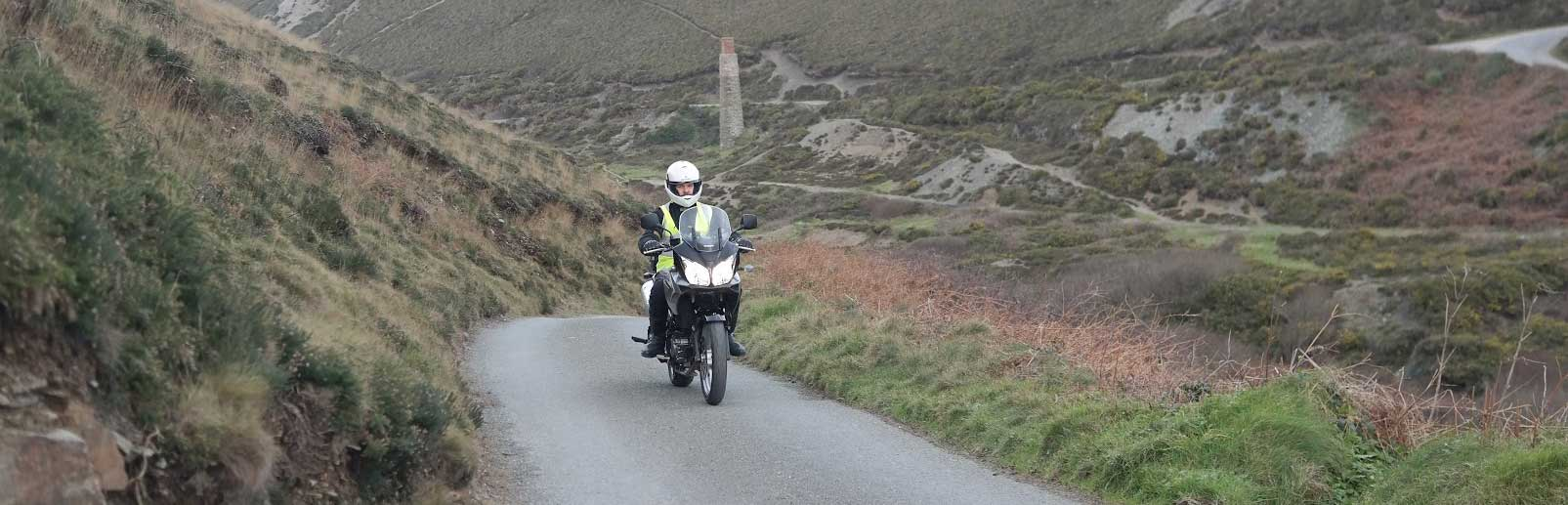 Motorcycle training in the Newquay Area